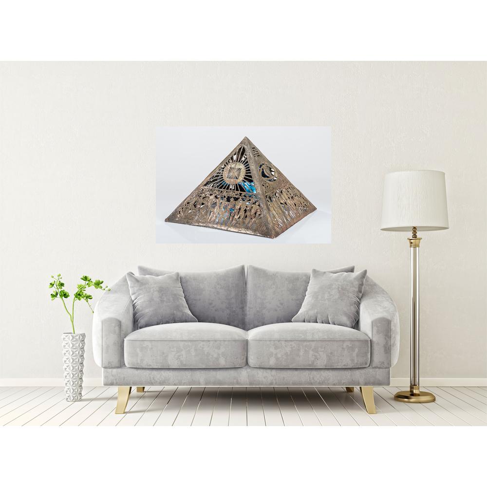 """Tablou Canvas """"Piramide"""" 120x90"""
