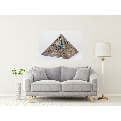 "Tablou Canvas ""Piramide"" 120x90"