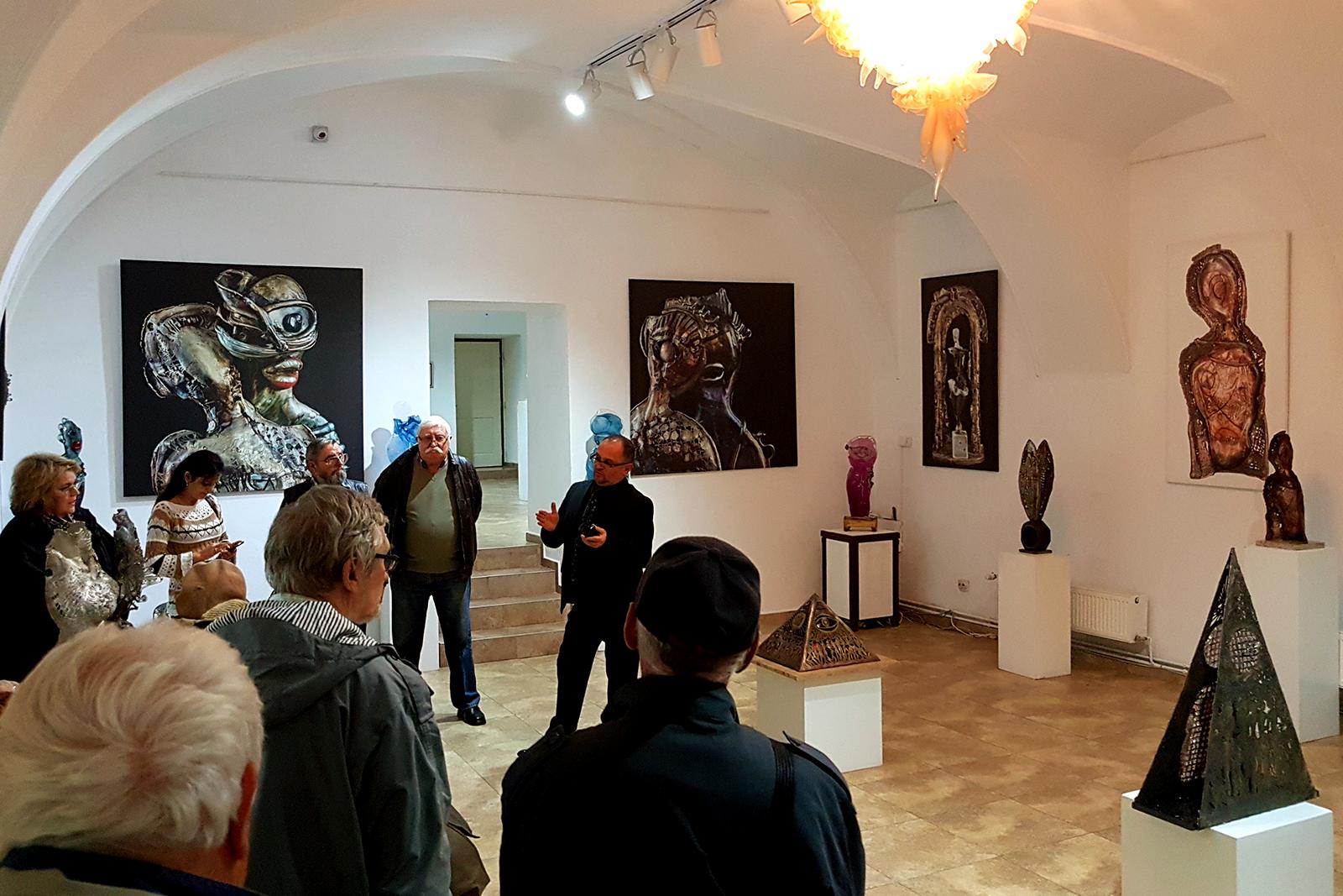 """Expozitie """"Reflexii in timp"""" - Ioan Tamaian"""